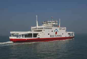 red funnel red falcon lr